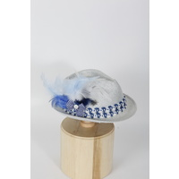 "Lady Hat ""Bavarian Blue"""