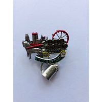 Pin Horse with beer wagon